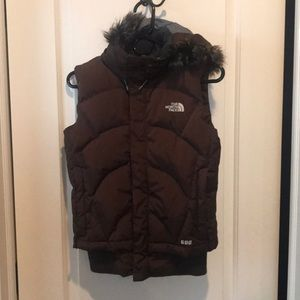 Women's North Face winter vest